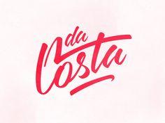 Dribbble - da Costa by Victor Soares