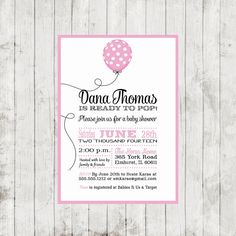 Baby Shower  Invitation and Personalized Sign by DesignsByDee13, $12.00