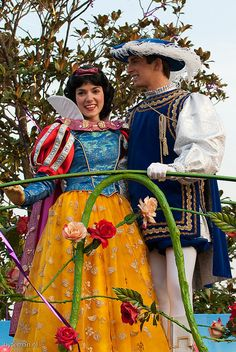 Snow White and her Prince.
