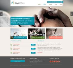 Seven Oaks PSD Theme - Media Page