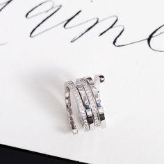 Spirale dinh van rings #dinhvan #paris #jewels #jewelry #spirale #rings #gold #diamonds