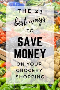 Want to know how to spend less on your shopping? This comprehensive list of ways you can save money on your shopping will help you cut your grocery spend. Money Saving Meals, Save Money On Groceries, Ways To Save Money, Money Tips, Frugal Living Tips, Frugal Tips, Frugal Meals, Grocery Savings Tips, Budgeting Finances