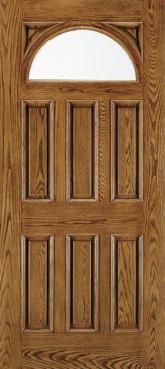 Architectural Fiberglass All Panel Exterior Door | JELD-WEN Doors ...