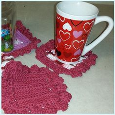 Coaster Set 7pc. 6 coasters and a complimentary centerpiece mat. $10