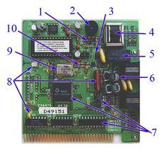 Oversigt og forklaring om de mest almindelige elektroniske komponenter, og hvordan de identificeres.  Explained list of the different types of electronic components, and how to identify them.