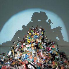El arte de la basura