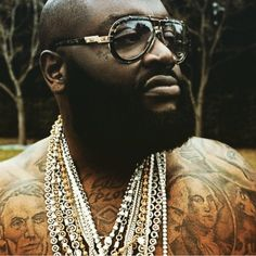 """e0e22614db Biggest Boss Rick Ross on Instagram  """"I filmed  mafiamusic video in between  shots of  deeper than rap  album cover shoot in which this classic pic was  taken ..."""