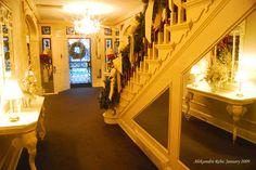 Reflections in Graceland's front hallway Jan. 2009 ARebic by AleksandraR, via Flickr #Elvis #Graceland
