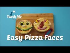Teach Me: Easy Pizza Faces - YouTube