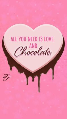 wallpaper Too Faced : All you need is love and CHOCOLATE !