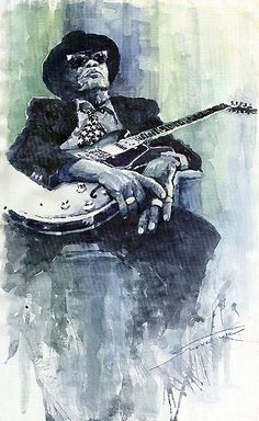 John Lee Hooker and his boogie blues influenced many stars of the 60's and beyond.
