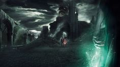 Harry potter deathy hallow duel