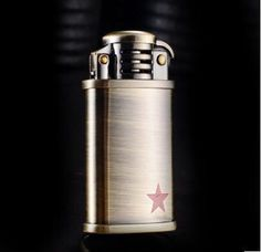 Fashion Retro Metal Carving Kerosene Oil Fire Lighter Unique Gasoline Cigarette Lighter Handicrafts Decoration Best gift