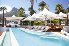 The Bay Hotel in Camps Bay, Cape Town