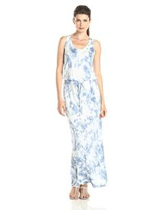 Calvin Klein Jeans Women's Retro Active Dyed Maxi Dress