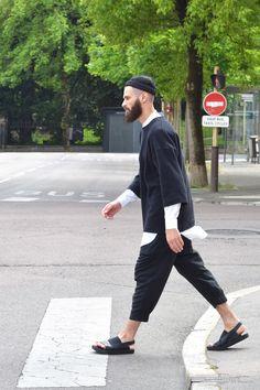 Miki Béton ciréDrôle de Monsieur sweaterJoin chapter trousersAlkarus