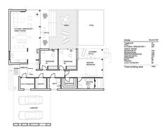 Modern Style House Plan - 3 Beds 2 Baths 1539 Sq/Ft Plan #552-2 Floor Plan - Main Floor Plan - Houseplans.com