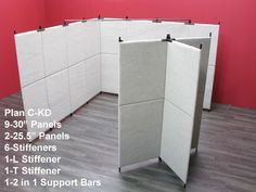 Pro Panels Art Show Booth Designs With Knock Down Panels - Pro Panels