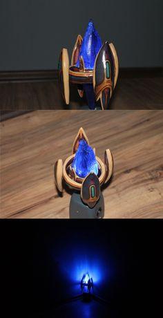 Starcraft 2 Protoss Pylon Lamp by Pharaun22
