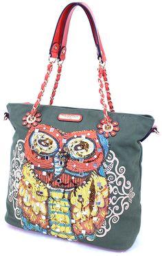 nicole+lee+handbag #owls