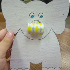 25 Cute Elephant Crafts for Kindergarteners - Page 17 of 26                                                                                                                                                                                 More