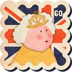 Diamond-Jubilee-Queen by Jennifer Farley Laughing Lion Design