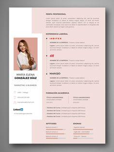Creative Cv Template, Cv Resume Template, Resume Design Template, Creative Resume Design, Free Resume, Cv Simple, Simple Resume, Foto Cv, Cv Inspiration