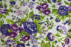 puple/green floral (by pip&squeak)