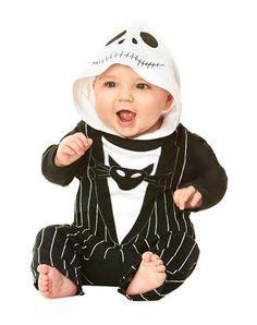 Nightmare Before Christmas Jack Skellington Baby Costume