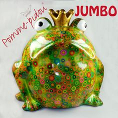 POMME PIDOU Jumbo Spardose als Froschkönig