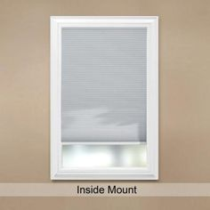 Home Decorators Collection Shadow White Cordless Blackout Cellular Shade (Price Varies by Size)-10793478636396 at The Home Depot