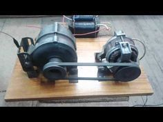 Ac Generator 220 volt 100 Watt free energy Part 2 with strong proof.... ( Et Discover) - YouTube