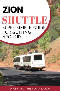 Zion Canyon Shuttle Makes it Easy to Enjoy Zion National Park - Walking The Parks National Park Passport, Us National Parks, Zion National Park, Rv Camping, Family Camping, Usa Travel, Travel Tips, Utah Vacation, Zion Canyon
