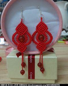 Macrame Earrings Tutorial, Macrame Tutorial, Earring Tutorial, Macrame Necklace, Macrame Jewelry, Macrame Bracelets, Crochet Earrings, Macrame Owl, Micro Macramé