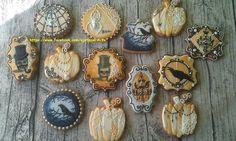 Halloween and Horror Cookies: Trending Over Last Week Thanksgiving Cookies, Fall Cookies, Cute Cookies, Cut Out Cookies, Holiday Cookies, Cupcake Cookies, Crazy Cookies, Cupcakes, Halloween Cookies Decorated