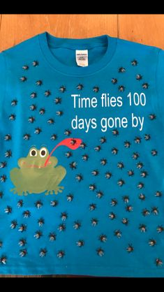 100 Days Of School Project Kindergartens, 100 Day Of School Project, Classroom Art Projects, School Projects, School Ideas, 100 Day Shirt Ideas, Early Childhood Centre, School Decorations, School Parties