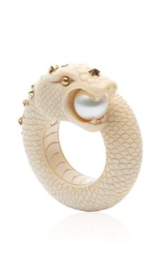Sea Snake Ring by Bibi van der Velden Spring-Summer 2014 (=)