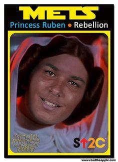 Mets Star Wars Night Trading Cards