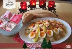 Zalmsalade Camembert Cheese, Buffet, Breakfast, Food, Salads, Morning Coffee, Meals, Yemek, Sideboard Buffet