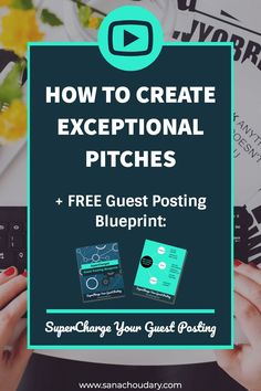 Watch this video to learn the 4 steps to creating exceptional pitches Email Marketing Strategy, Content Marketing, Business Tips, Online Business, Business Branding, Blogging For Beginners, Make Money Blogging, Marketing Digital, How To Start A Blog