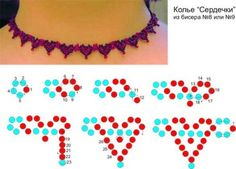 Hearts' Necklace