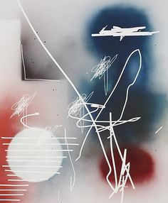 Jeff Elrod El Espectro, 2012 Acrylic and ink on canvas 96 X 74 inches