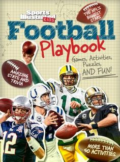 Sports Illustrated Kids Football Playbook: Games, Activities, Puzzles and Fun!
