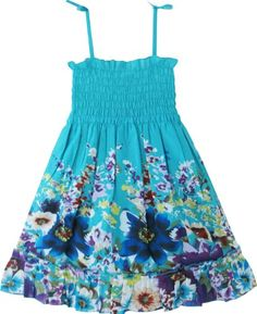 BB61 Girls Dress Tank Trim Smocked Flroal Blue Kids Clothes Size 2-3 Sunny Fashion,http://www.amazon.com/dp/B009YB1UQY/ref=cm_sw_r_pi_dp_0lO8rb0MDQTDM6WR
