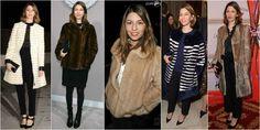 sofia coppola futro Sofia Coppola, French Chic, Mario, Fur Coat, Blog, Jackets, Fashion, Down Jackets, Moda