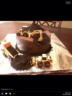 ....in case the tractor cake turns out poorly!