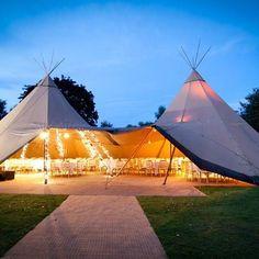 Unique shape and cosy environment / the tipi tent as magical wedding decor / #weddinglocation #tipitent #bohowedding #bridaldecor #bohostyle #bohobride #pinterestinspired
