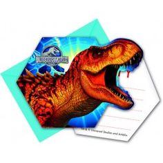 INVITI COMPLEANNO JURASSIC WORLD - JURASSIC PARK 872147