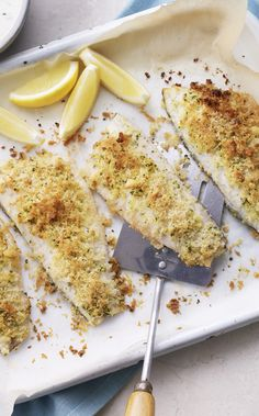 Mary's got a great hack for these no-fuss breaded fish fillets. Add a little chopped tarragon for the taste of summer.