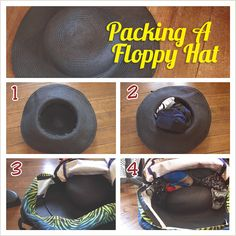 Always pack a hat! In the winter, a knit hat will keep you warm and take up little room. In the summer, a brimmed hat will keep the sun off your face. In either case, it will save you when your straightening iron doesn't work in the trapezoidal electrical socket you found in your hotel room